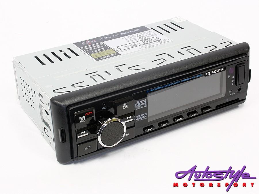ICE Power ICP-109 Media Player with USB/Bluetooth-0