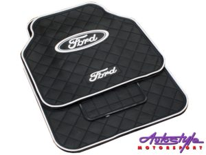 Ford Design Rubber Car Mats-0