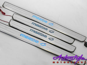 Mazda 6 Light-up Side Step Plates-0