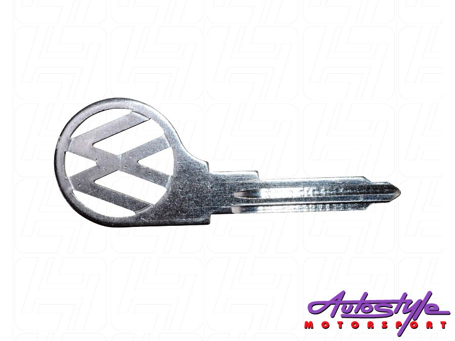 VW Classic Beetle Bus Key Blank with L Profile-0