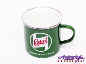 Castrol souvenir enamel Mug-0