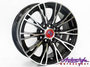 """15"""" QS Viper 4/100 & 4/114 Alloy Wheels-0"""
