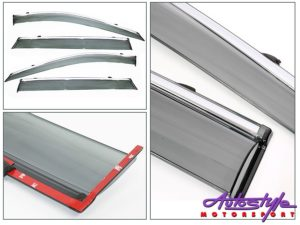 NX Tint & Chrome Stripe Windshields for Nissan Qashqai 2015+-0