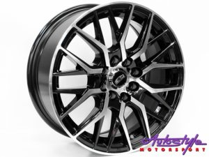 "15"" Evo Taurus 4/100 & 4/108 BMF Alloy Wheels-0"