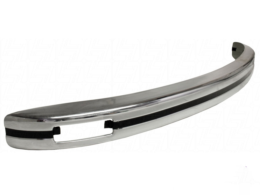 VW Classic Beetle Chrome Europa Front Bumper with Indicator Slots