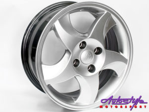 "15"" Axe RXI 4/100 HS Alloy Wheels-0"