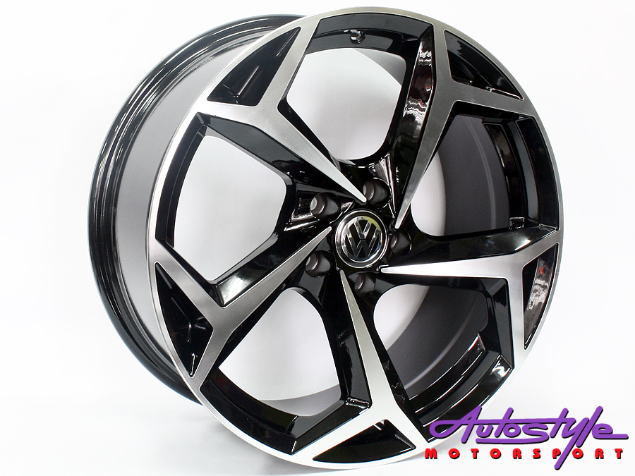 "17"" Axe AV-21 5/100 BKMF Alloy Wheels-0"