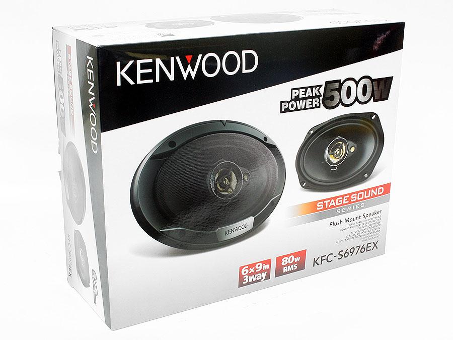 Kenwood KFC-PS6976EX StageSound Series 6×9″ 500w Speakers
