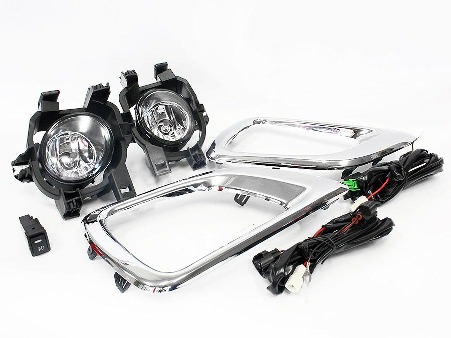 Nissan Navara 2017 Bumper Foglamp Kit (pair)