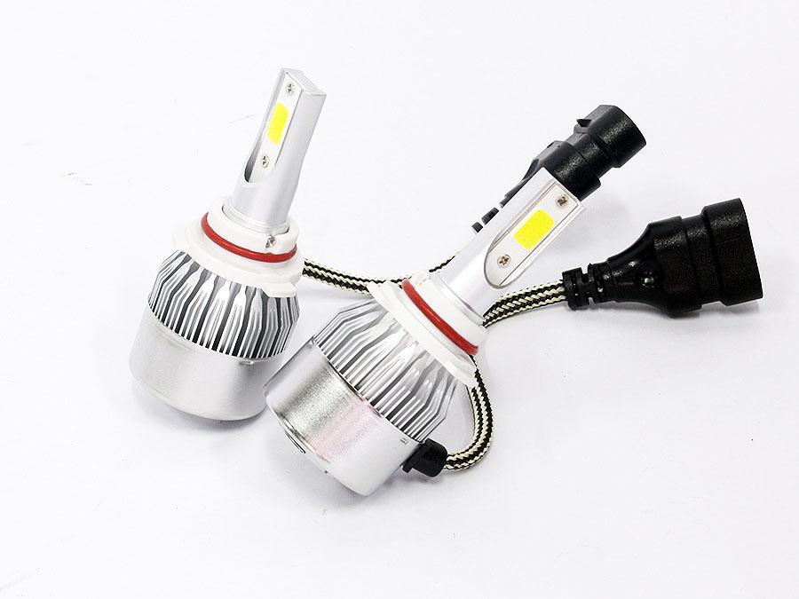 C6 LED Headlamp Bulbs 9006 (pair)