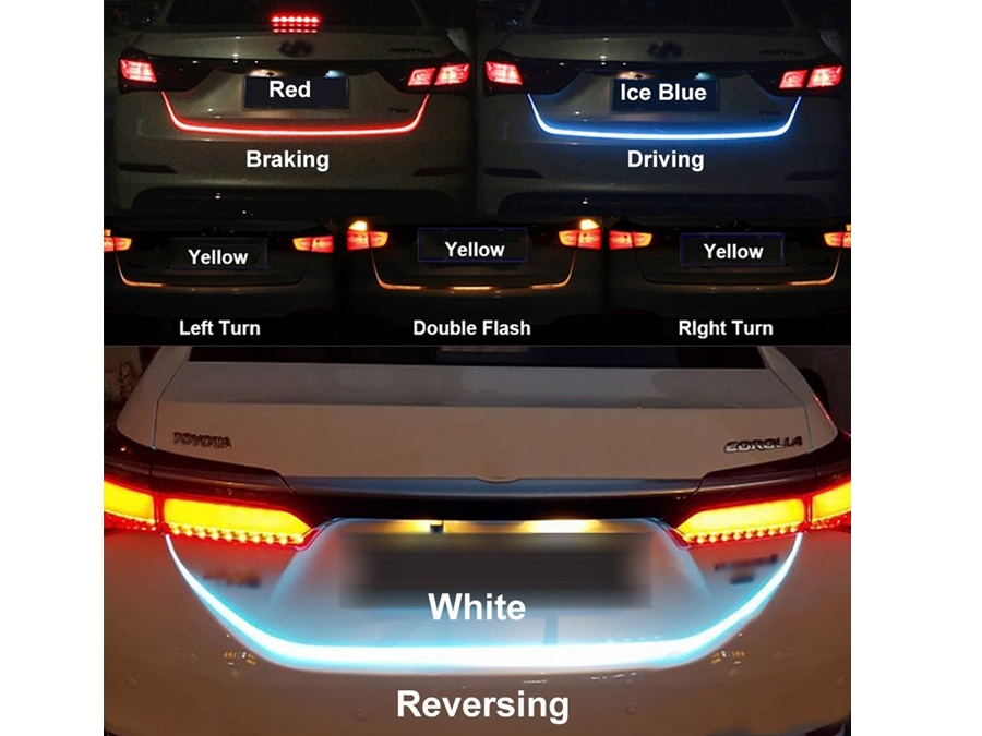 Rear Trunk LED Multi-Function Stripe