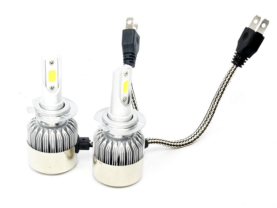 C6 LED Headlamp Bulbs H7(pair)