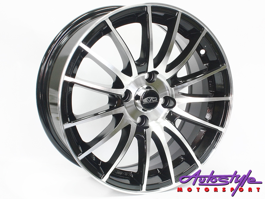 "14"" Evo Assault 4/100 BMF Alloy Wheels-0"