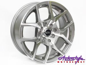 "15"" Evo Magnum 4/100 & 4/114 GM Alloy Wheels-0"
