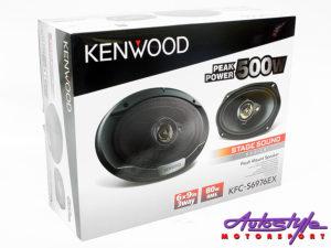 "Kenwood KFC-PS6976EX StageSound Series 6x9"" 500w Speakers-0"