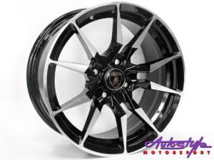"17"" Axe Lp-700 5/100 BKMF Alloy Wheels-0"