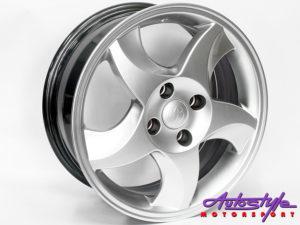 "15"" Axe RXI 4/100 HS Alloy Wheels-0"