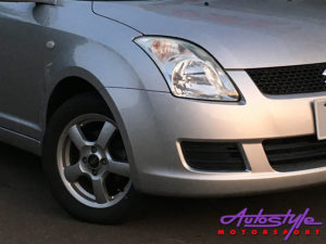 Suzuki Swift 2008 to 2010 Foglamp Grille (RHS)-0