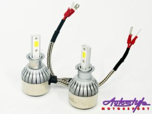 C6 LED Headlamp Bulbs H3(pair)-0