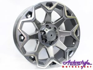 "20"" R-Line 82743 6/139 GMMF Alloy Wheels-0"
