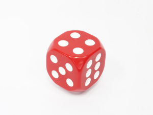 Red Dice Decorative Gear shift knob-0