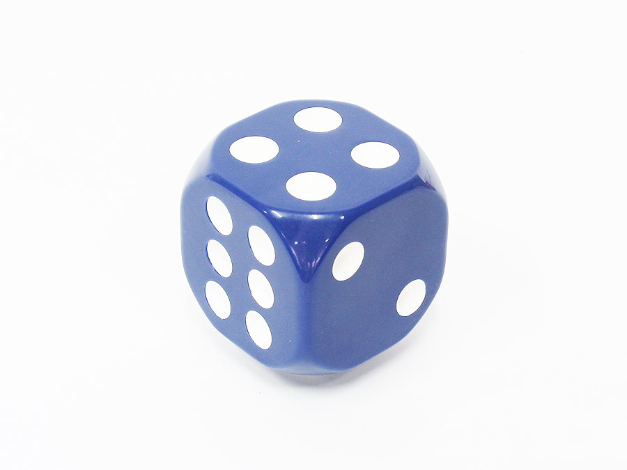 Blue Dice Decorative Gear shift knob