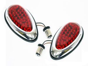 Universal Teardrop Design LED Tail lamps-0