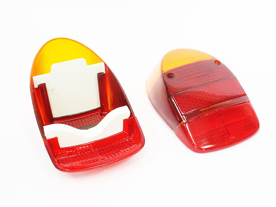 VW Classic Beetle 68-74 Tail Lamp Lenses (pair)