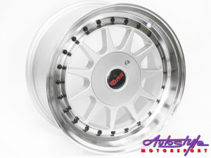 "15"" M1032 4/100 & 4/114 Silver Alloy Wheels-0"