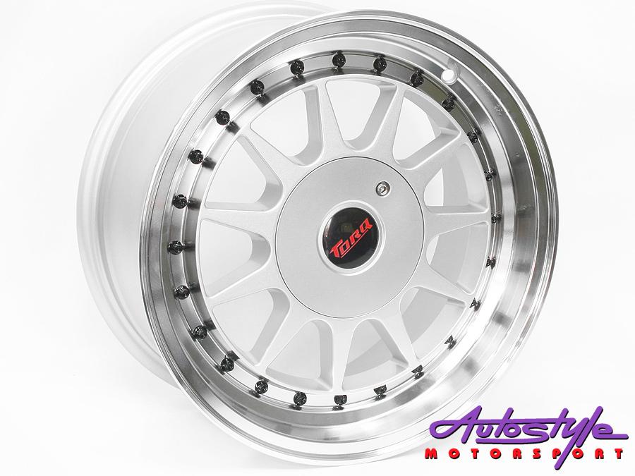 "15"" M1032 4/100 & 4/114 Silver Alloy Wheels-0"