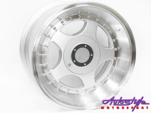 "15"" Evo 595 4/100 & 4/114 Silver Alloy Wheels-0"