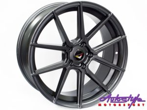 "19"" Axe Spike(B) 5/112 M/GM Alloy Wheels-0"