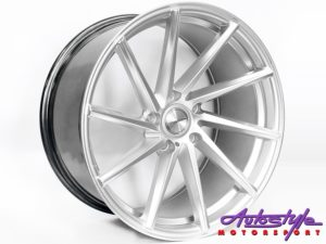 "19"" QS CVT 5/112 Hypersilver Alloy Wheels-0"