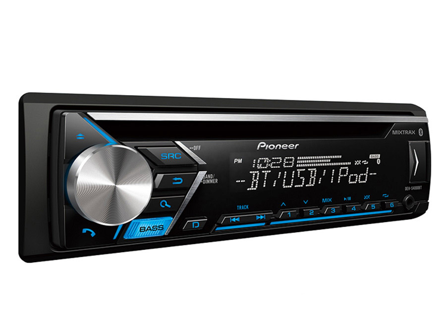 Pioneer DEH-S4000BT Mp3 Cd with Bluetooth, USB & Mixtrax