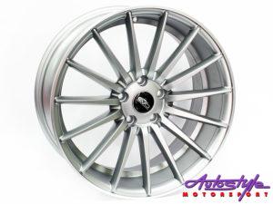 "18"" Evo 0084 5/112 Matt grey Alloy Wheels-0"