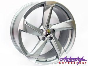 "20"" Evo 5293 5/112 Matt Grey Alloy Wheels-0"