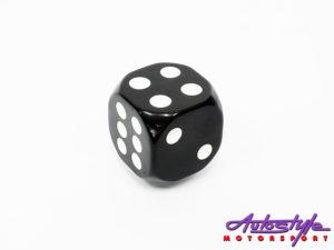 Black Dice Decorative Gear shift knob-0