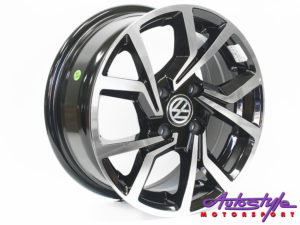 "14"" QS Clubsport 4/100 BKMF Alloy Wheels-0"