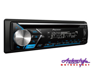 Pioneer DEH-S4000BT Mp3 Cd with Bluetooth, USB & Mixtrax-0