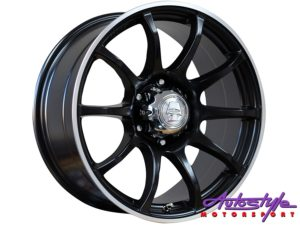 "18"" A-Line Striker 6/139 BKML Alloy Wheels-0"