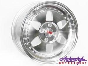 "15"" R-Line ACV14 4/100 SMF Alloy Wheels-0"