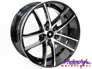 "20"" AV105 5/120 Gloss Black Alloy Wheels-0"