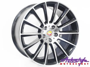 "19"" R-Line 1241 5/112 BKMF Alloy Wheels-0"