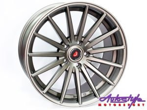 "19"" Axe VS-2-DMAT 5/120 Narrow & Wide Wheels-0"