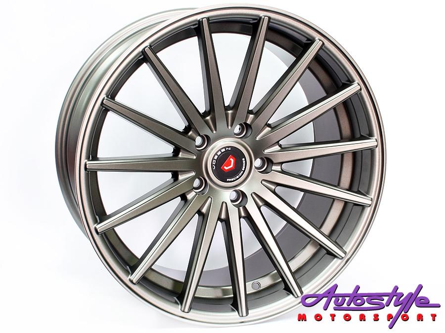 19″ Axe VS-2-DMAT 5/120 Narrow & Wide Wheels