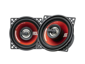 """MTX Thunder Series 4"""" 180w coaxial speakers-0"""