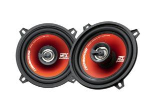 "MTX Audio Terminator series TR50C 5"" 2way CoaXial Speakers -0"