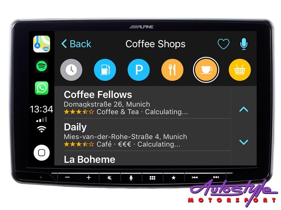 """Alpine ILX-F903D Halo9 9"""" Single Din Digital Media Receiver-29884"""
