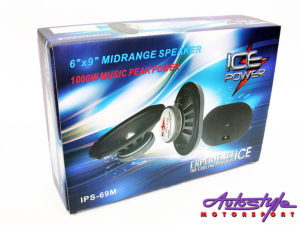 "ICE Power IPS-69M 1000w Pro Series 6x9"" Speakers-0"