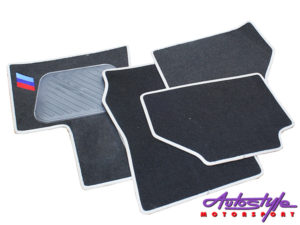 Suiltable for X3 4piece Striped Car Mats-0